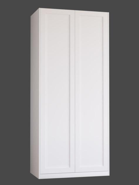 Shaker 1.1 (ühe raamiga Shaker 1) uksed PAX garderoobikappidel.