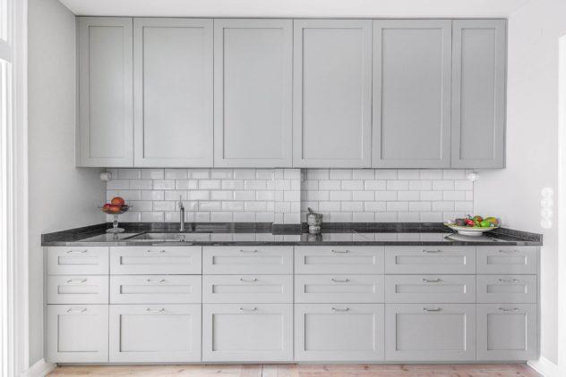 Köögimööbel eritellimusel - Shaker 1 uksed ja Galaxy Star töötasapind